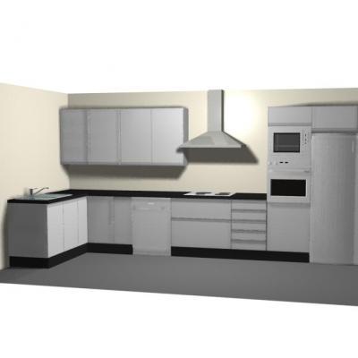 Cocinas 3d 5